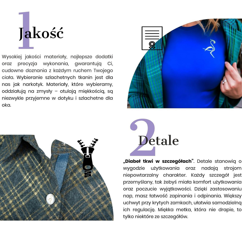 najwyższa jakość i detale slow fashion