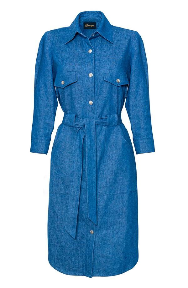 sukienka-jeansowa-niebieska-szmizjerka