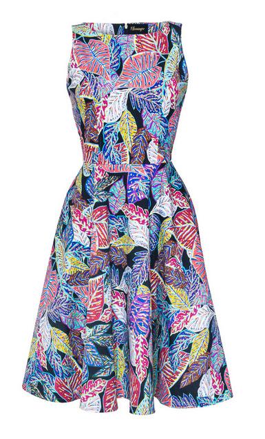 sukienka-rozkloszowana-w-kolororowe printy