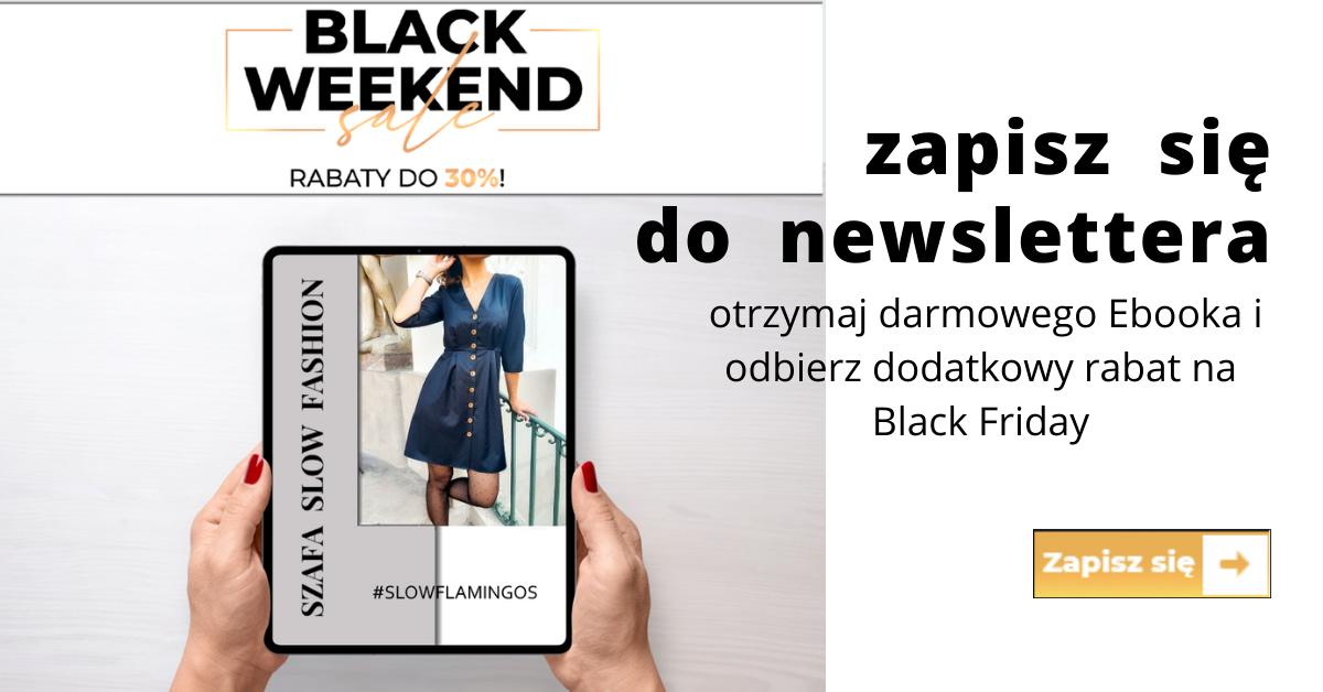 zapis do newslettera na black friday