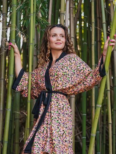 kimono wiskozowe sukienka