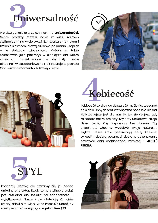 uniwersalność kobiecość styl slow fashion